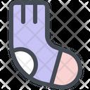Christmas Holiday Sock Icon