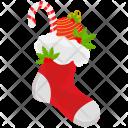 Ball Candy Christmas Icon