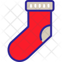 Sock Winter Santa Icon