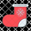 Sock Snowflake Winter Icon