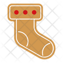 Sock gingerbread Icon