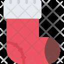 Sock New Year Icon