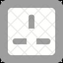 Socket Electricity Plug Icon
