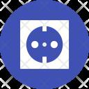 Socket Plug Electric Icon