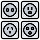 Socket Electrician Electricity Icon