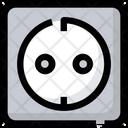 Electric Euro Socket Icon