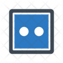 Socket Electric Connector Icon
