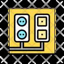 Socket Antenna Output Icon