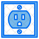 Electric Outlet Plug Icon