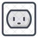 Outlet Power Socket Icon
