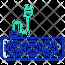 Socket Plug Power Icon