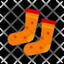 Socks Footwear Icon