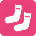 Socks Footwear Xmas Icon