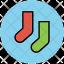 Socks Stocking Winter Icon