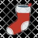 Socks Woolen Christmas Icon