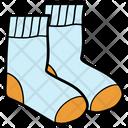 Footwear Socks Warm Socks Icon
