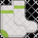 Socks Cloth Footware Icon