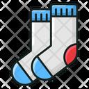Socks Under Shoes Socks Footwear Icon