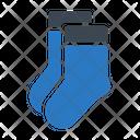 Socks Footwear Woolen Icon