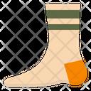 Socks Wool Thick Icon