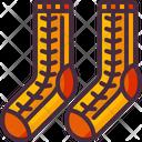 Clothes Fashion Socks Icon