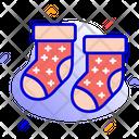 Socks Footwear Clothes Icon