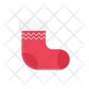 Socks Christmas Footwear Icon