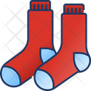 Socks Footwear Winter Icon