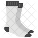 Socks Winter Wear Stockings Icon