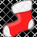 Socks Footwear Winter Icon