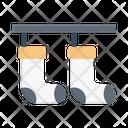 Socks Laundry Clothes Icon