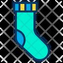 Footwear Socks Winter Icon