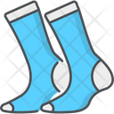 Socks Clothes Doodle Icon