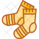 Socks Winter Clothes Clothing Icon