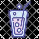 Soda Drink Glass Icon