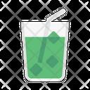 Soda Straw Beverage Icon