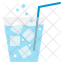 Soda Glass Drink Cold Ice Beverage Thirst Icon