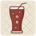 Soda Soda Glass Cold Drink Icon