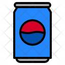 Can Cola Beverage Icon