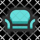 Sofa Chair Lounge Icon