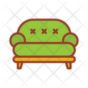 Sofa Coach Furniture Icon
