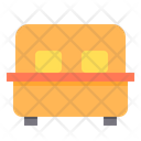 Bed Relax Furniture Icon