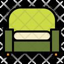 Armchair Sofa Furniture Icon