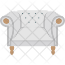 Couch Furniture House Icon