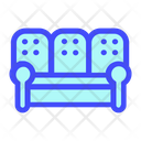 Sofa Design Furniture Icon