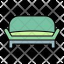 Sofa Settee Furniture Icon