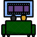 Sofa Chair Room Icon