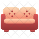 Settee Sofa Couch Icon