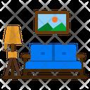 Sofa Living Room Icon