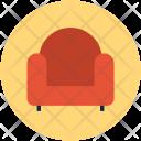 Sofa Couch Interior Icon